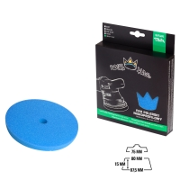 Royal Pads - THIN Heavy Cut Schaum-Polierpad 80mm blau
