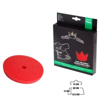 Royal Pads - THIN Soft Schaum-Polierpad 80mm rot