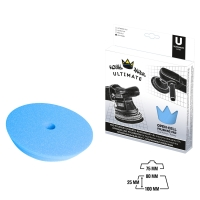 Royal Pads UNI Finish Schaum-Polierpad 80mm blau