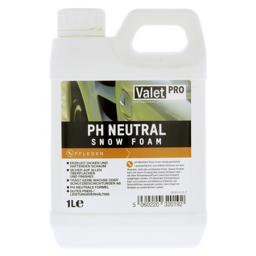 ValetPRO - PH Neutral Snow Foam Reinigungsschaum 1L