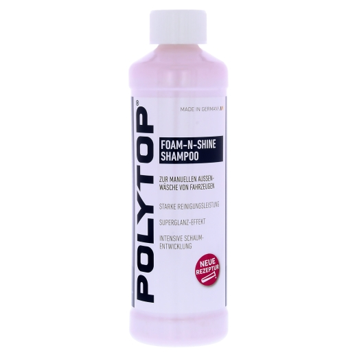 Polytop Foam-n-Shine Shampoo 500ml