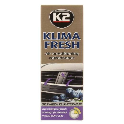 K2 KLIMA FRESH Blueberry A/C Reiniger 150ml