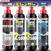 Menzerna 4x 250ml MC2500 SF3500 HC400 Ultimate Protection
