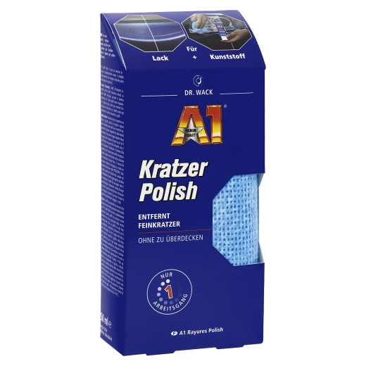 Dr. Wack - A1 Nano Kratzer Polish Lackpolitur 50ml