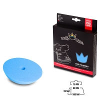 Royal Pads - AIR Heavy Cut Schaum-Polierpad 80mm blau
