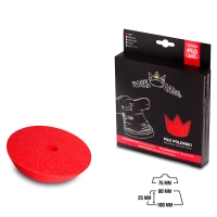 Royal Pads AIR Soft Schaum-Polierpad 80mm rot