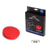 Royal Pads - PRO Soft Schaum-Polierpad 80mm rot